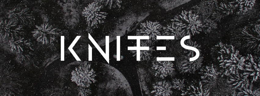 Knites band logo design