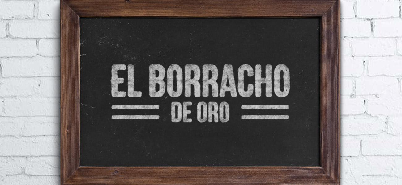 El Borracho De Oro Tapas Bar Branding Birmingham