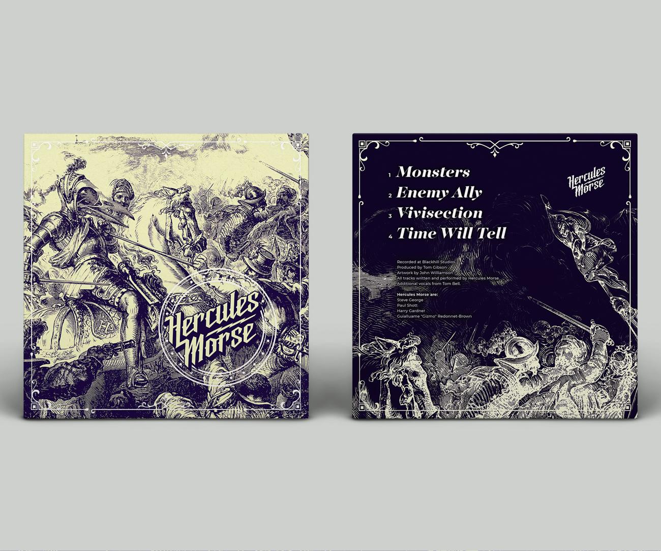 Hercules Morse Album Artwork Design
