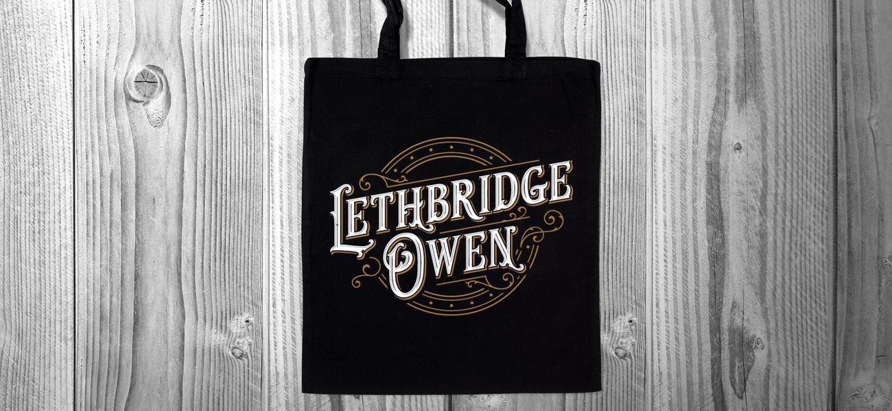 Lethbridge Owen Tote Bag Logo Design