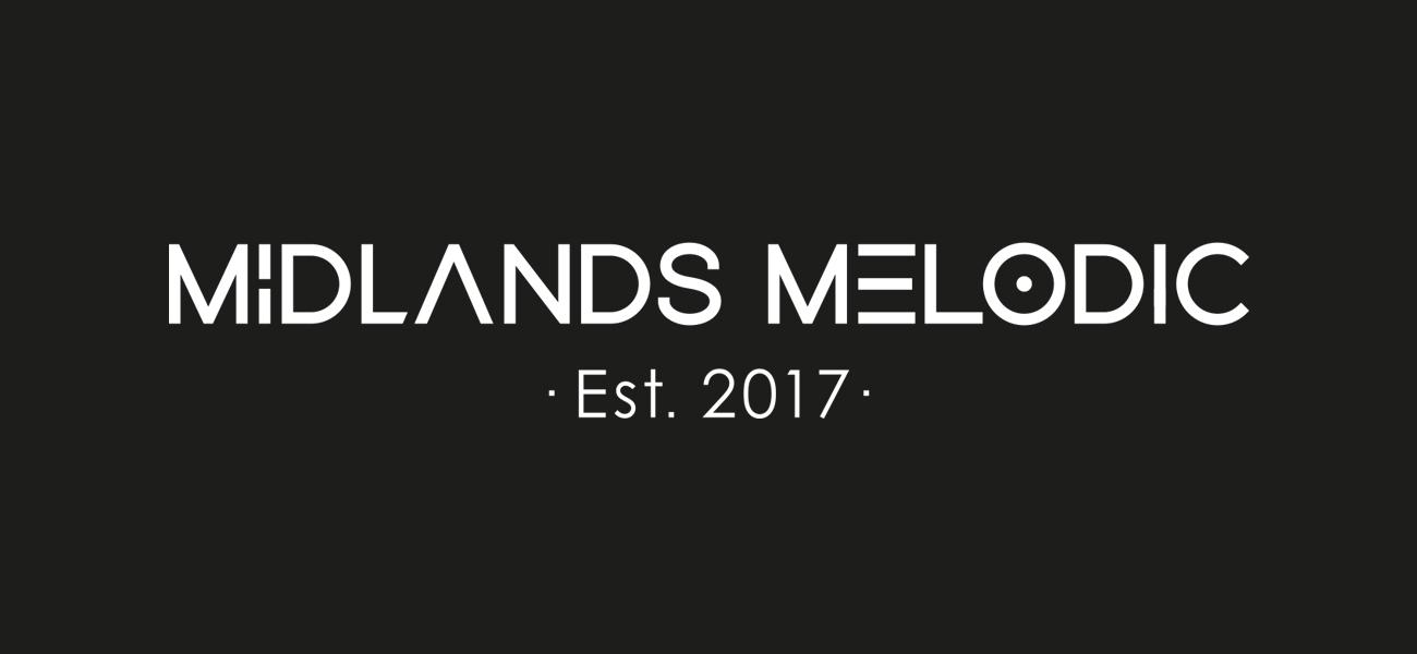 Midlands Melodic Music Blog Branding Logo Design