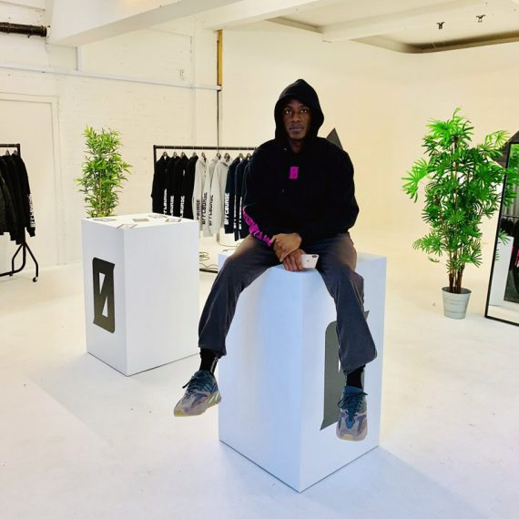 OFFCOURSE Rapper Logo Design Popup Shop