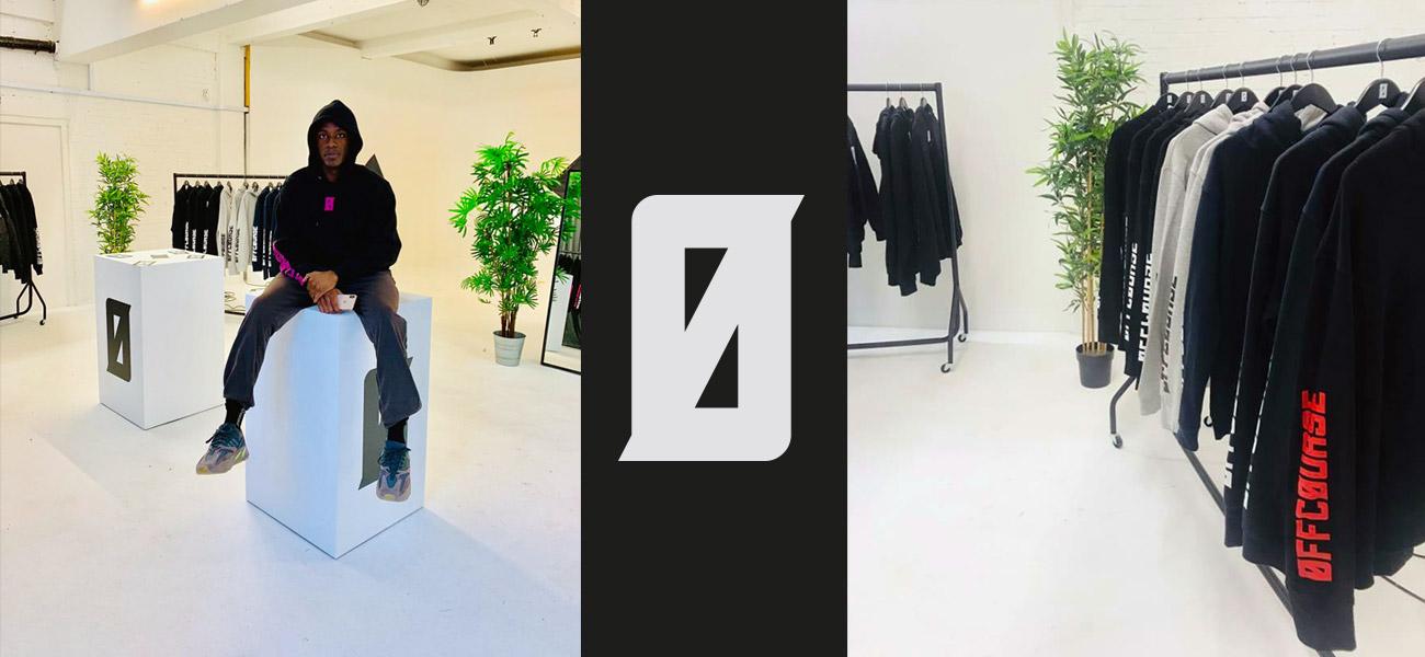 OFFCOURSE Merchandise Design Popup