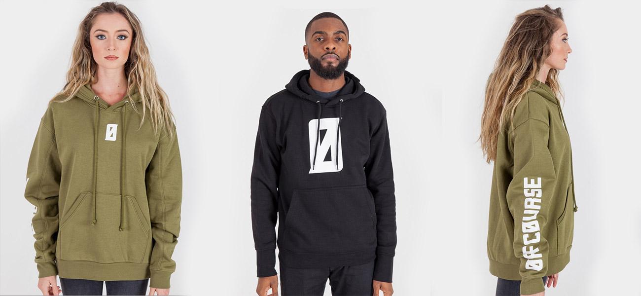 OFFCOURSE Merchandise Design Hoodies