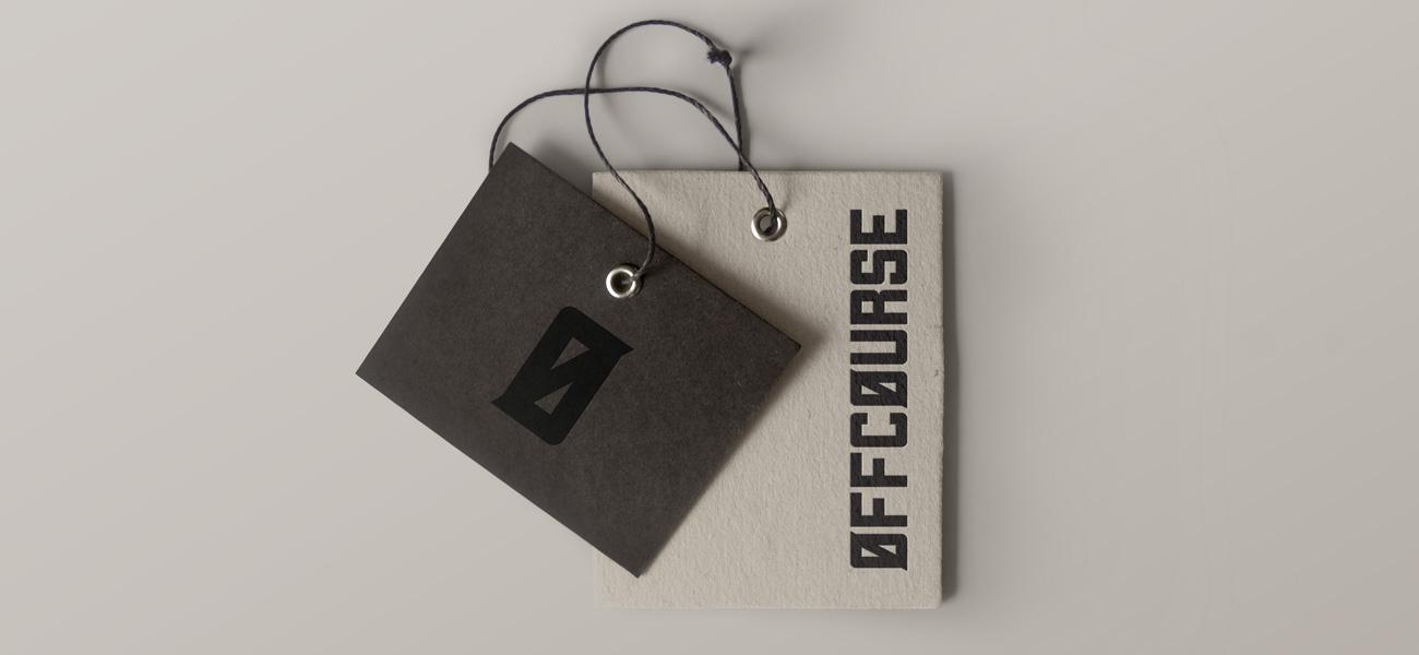 OFFCOURSE Rapper Logo Design Tag