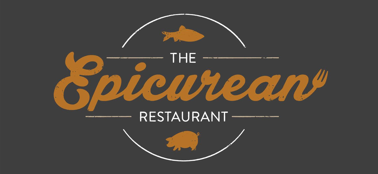 The Epicurean Restaurant harborne Logo Design Birmingham
