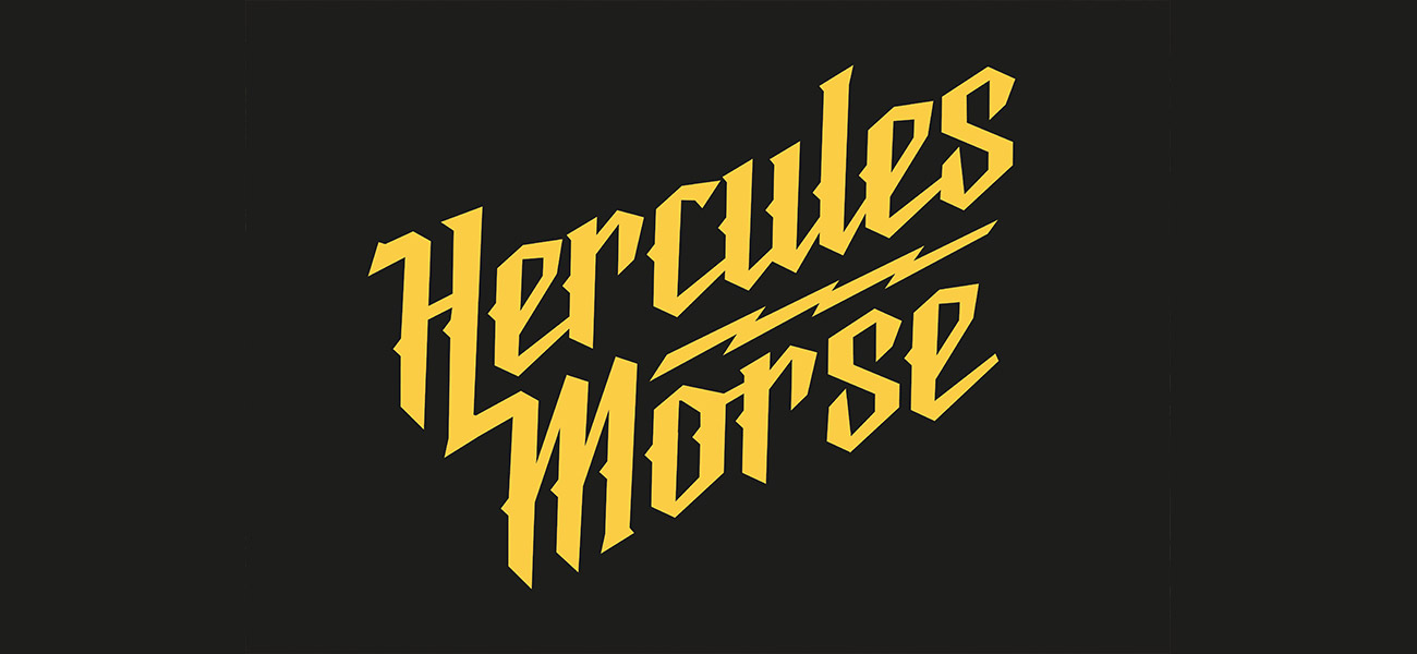 Herculese Morse Band Logo Artwork Design