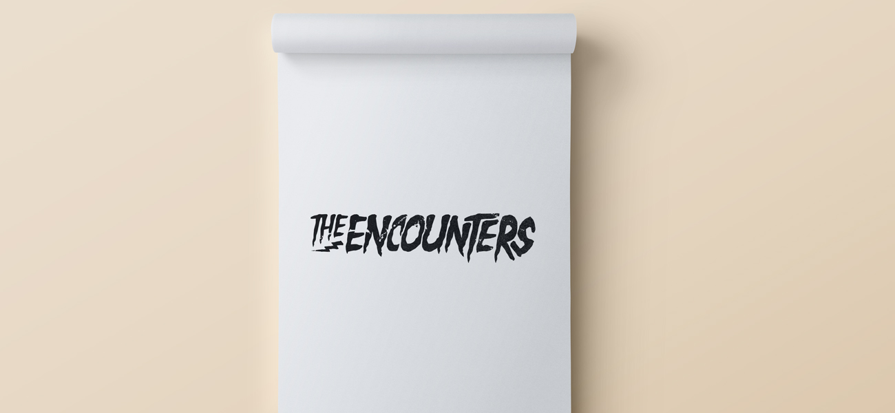 The Encounters Band Logo Design