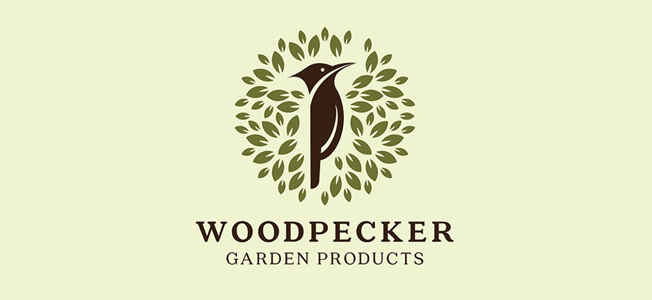 Woodpecker Garden Products Branding