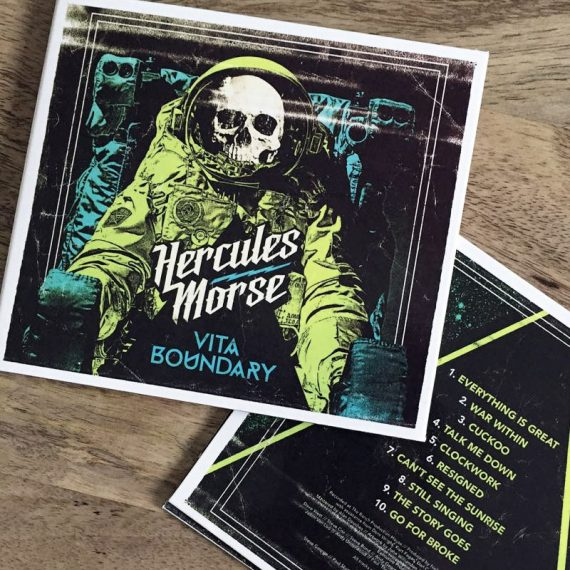 Hercules Mors Band Logo Design CD Artwork Birmingham