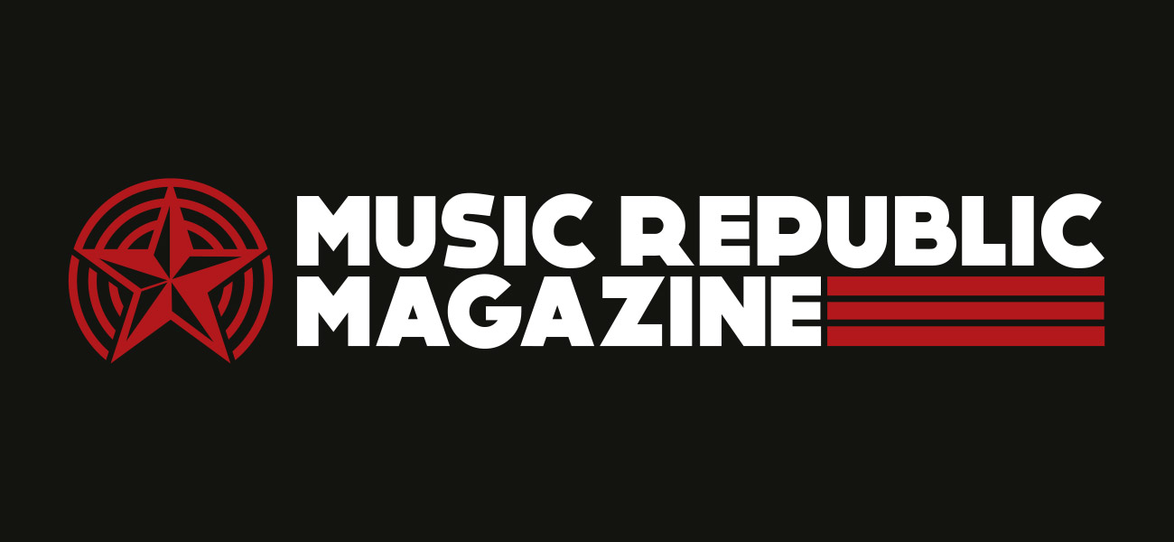 Music Republic Magazine Logo Design Branding