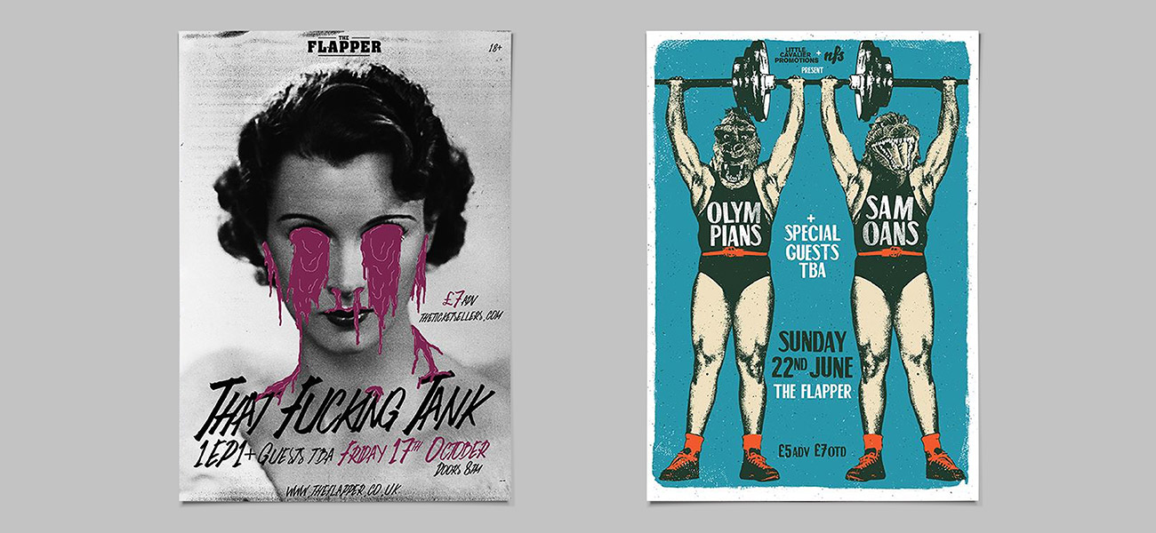 Gig Poster Designs Birmingham