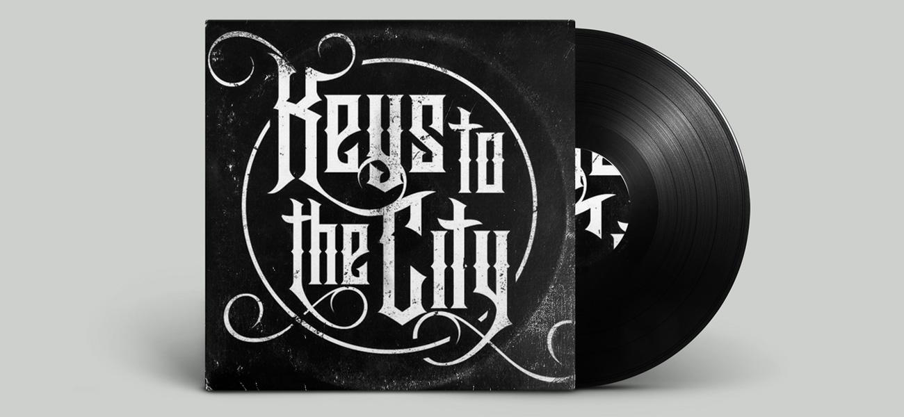 Keys to the city band logo design