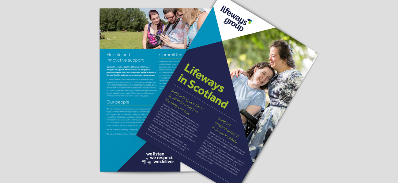 Lifeways Bi-Fold Graphic Design