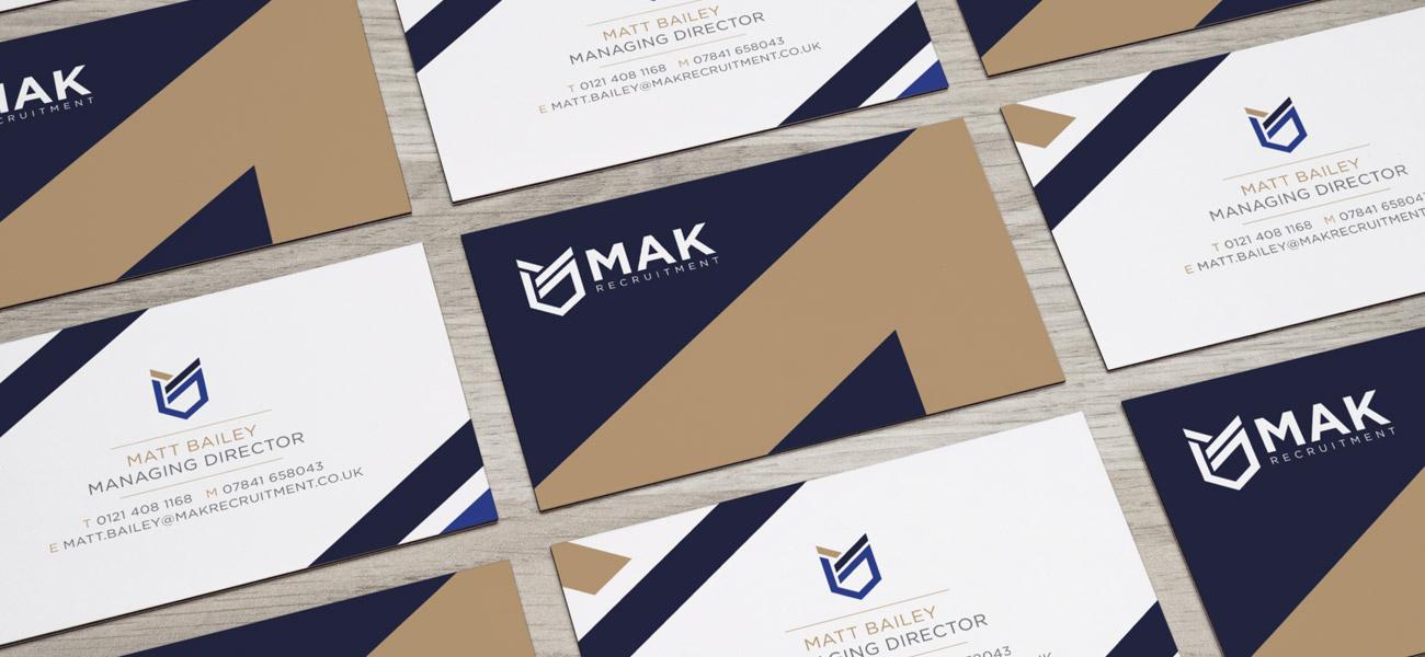 MAK Recruitment Logo Design Birmingham