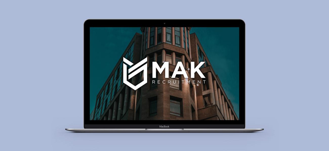MAK Recruitment Birmingham Logo Design