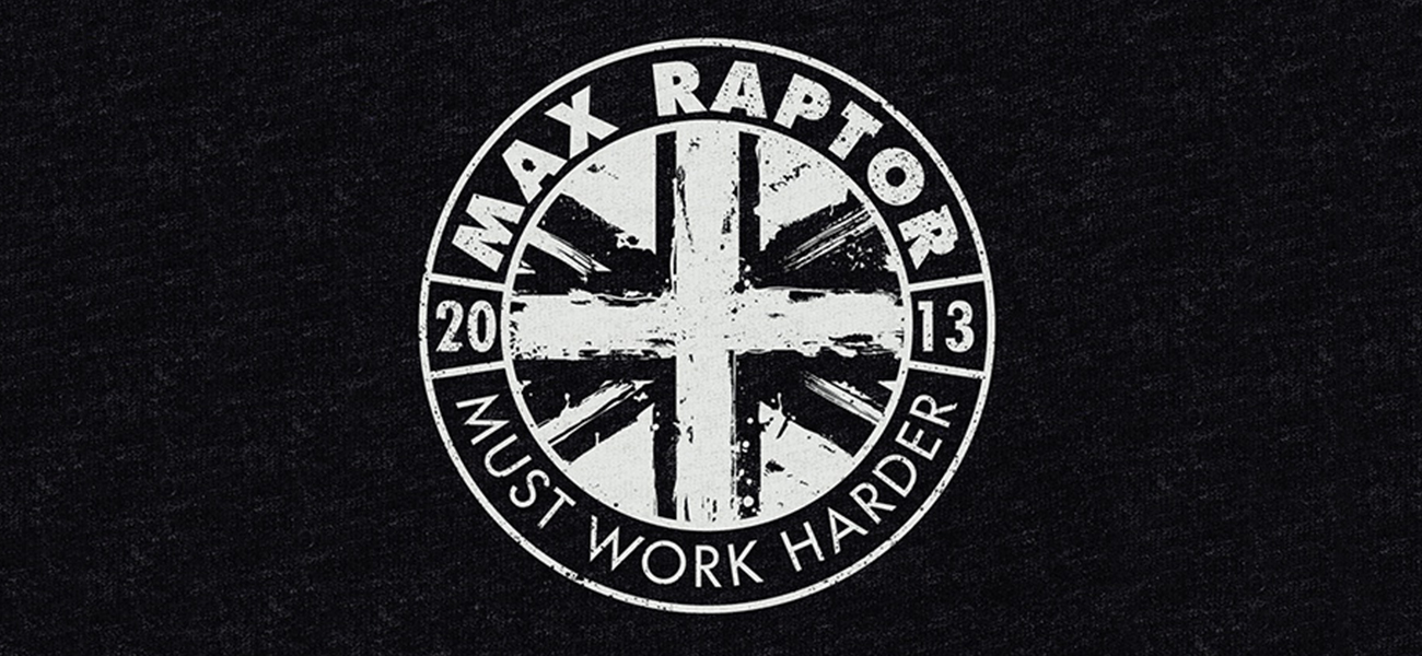 Max Raptor Band Merch Design