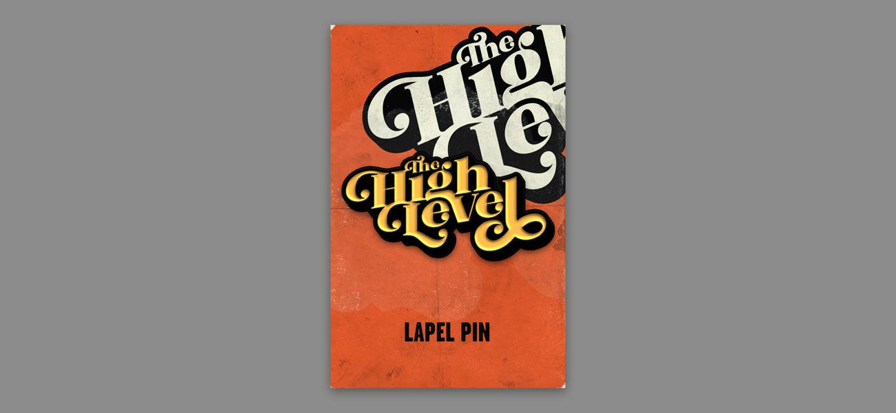 The High Level Band Logo Lapel Pin