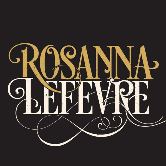 Rosanna Lefevre Singer-Songwriter Logo Design