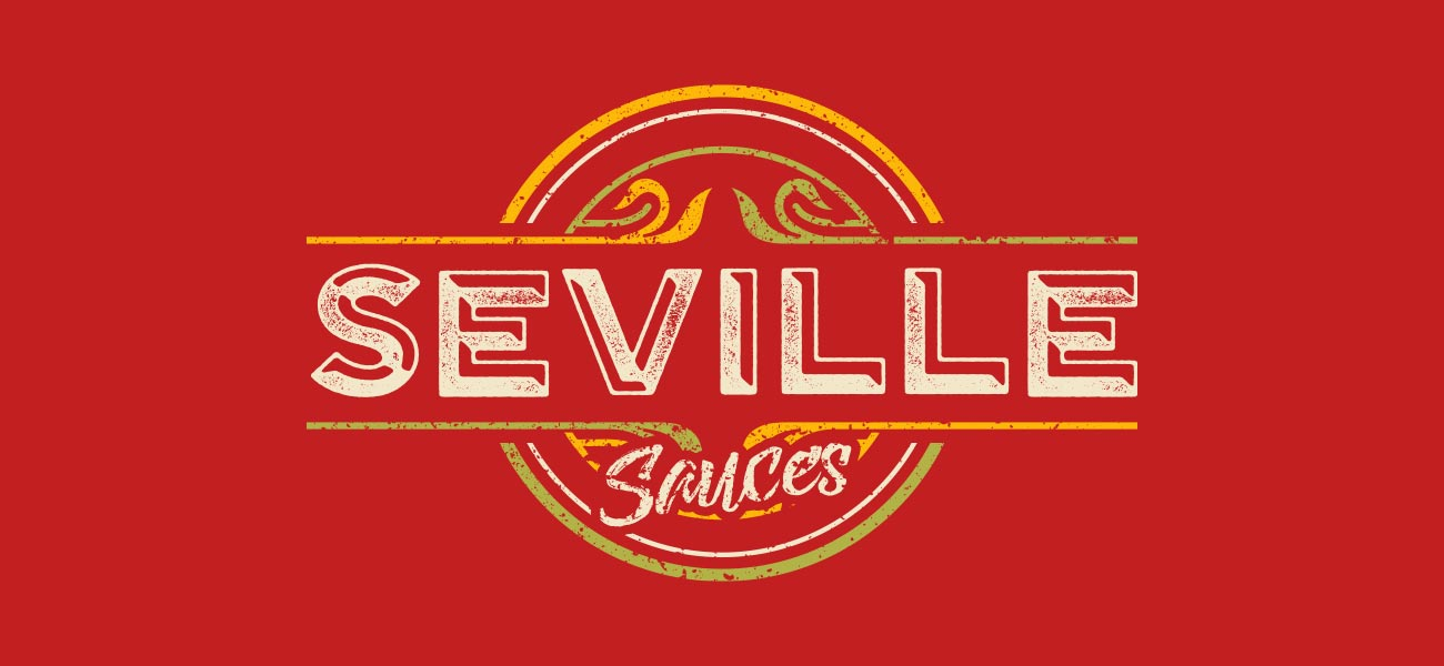 Seville Sauces Branding and Packaging Design and Print