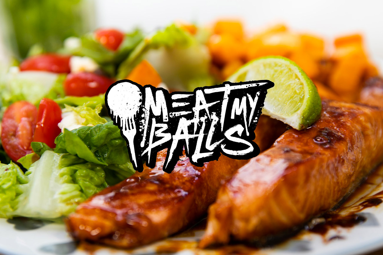 Meat My Balls food photography logo design cardiff