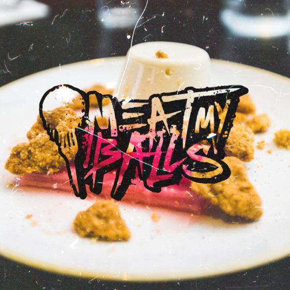 Meat My Balls Food Blog Logo Design