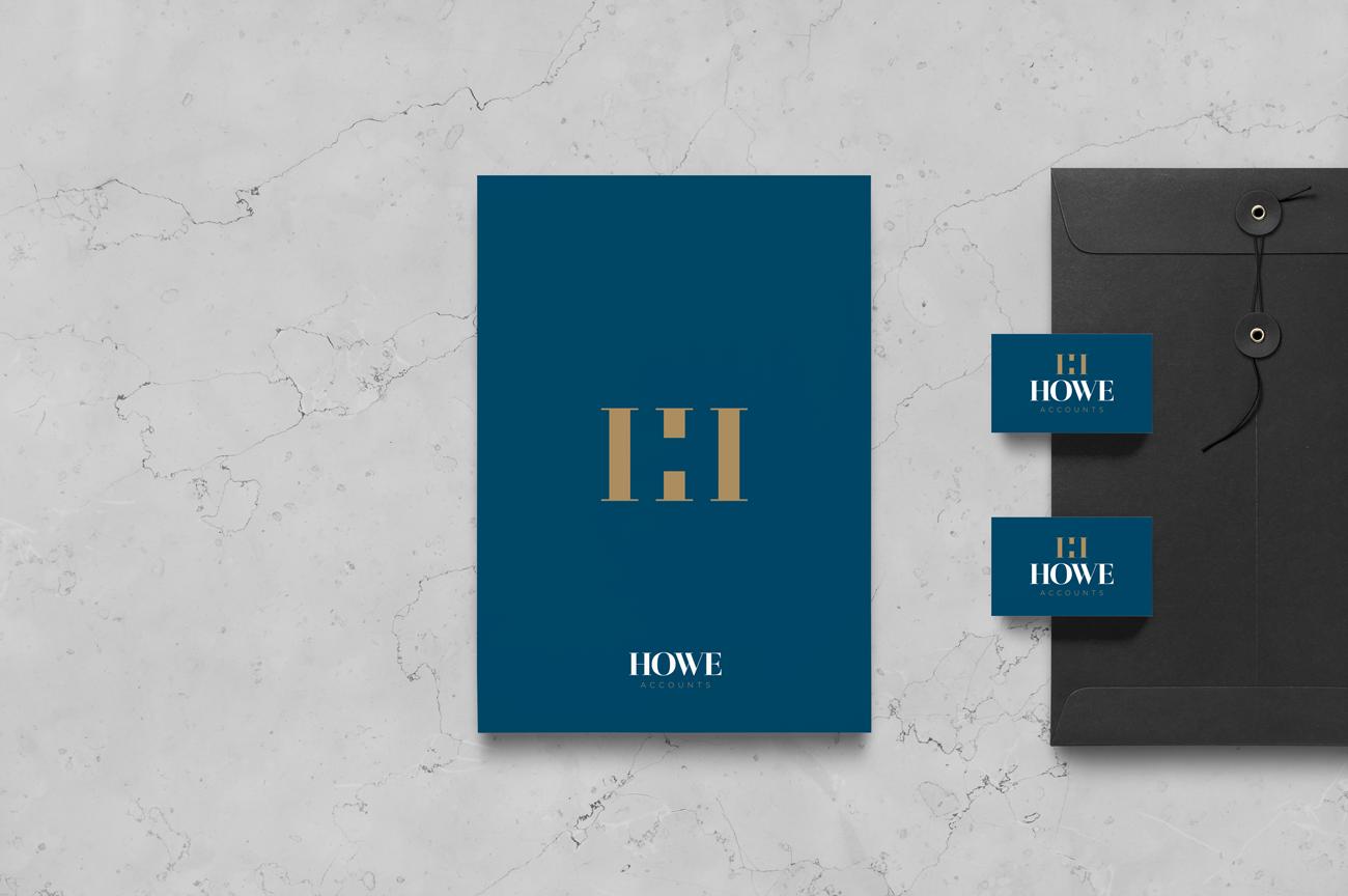Howe Accounts Letterhead Design Birmingham