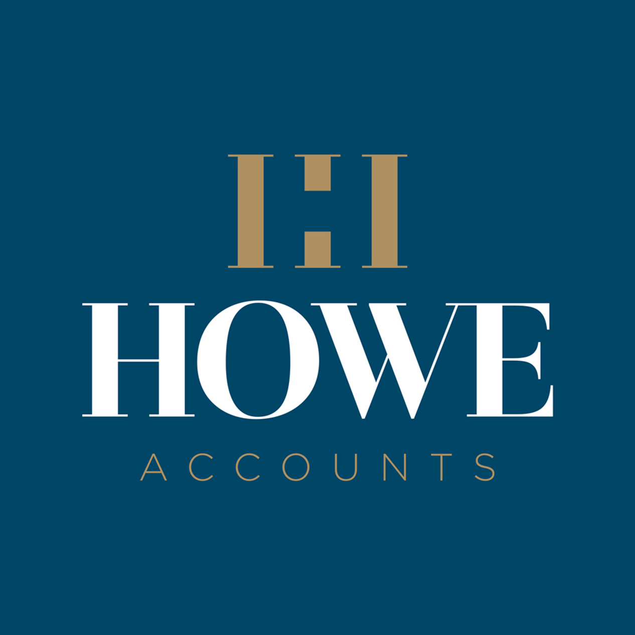 Howe Accounts Logo Design Birmingham